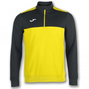 Bluza JOMA Winner 1/2 Yellow-Black