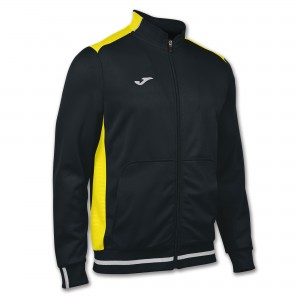 Bluza JOMA Campus II Man fleece black/yellow